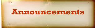Beth Jacob   Announcements